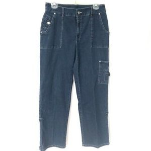 Pappagallo Vintage Jeans High Rise Cargo Skate 10